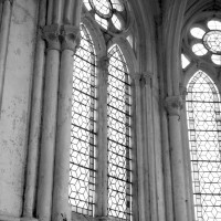 Retombée des voûtes de l'abside