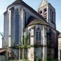 Vue partielle de l'église depuis le nord-est (1997)
