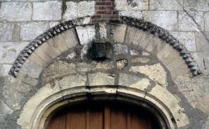 Vue partielle du portail ouest (1972)