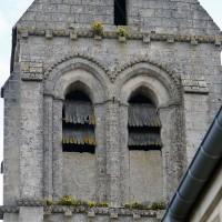 L'étage du beffroi du clocher vu depuis l'ouest (2016)
