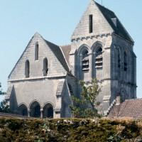 Vue partielle de l'église depuis le nord-est (1995)