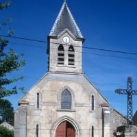 La façade de l'église vue de l'ouest (1996)