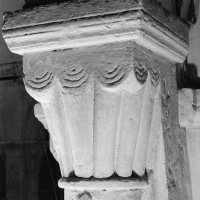 Chapiteau à godrons de la nef (1970)