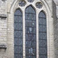 Fenêtre du mur sud du transept (2015)