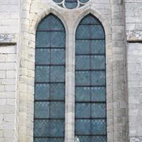 Fenêtre du mur ouest du transept (2015)