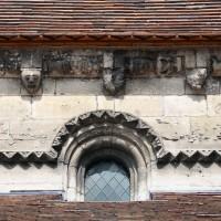 Fenêtre haute du mur gouttereau sud de la nef (2015)