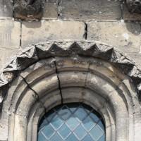 Fenêtre du mur gouttereau sud de la nef (2015)