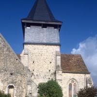 Vue partielle de l'église depuis le sud (1996)