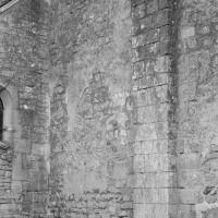 Contrefort plat au mur nord de la nef (1975)