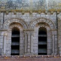 La face sud du premier étage du clocher (2002)