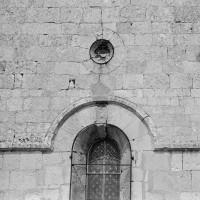 Détails du mur sud de la chapelle (1970)
