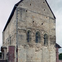 La chapelle vue du sud-est (2004)