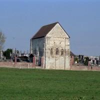 La chapelle dans son environnement vue du sud-est (2003)