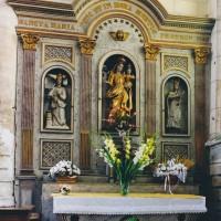 L'autel-retable du bas-côté sud (2003)