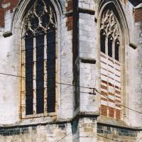 Vue partielle de l'abside depuis le sud-est (2003)