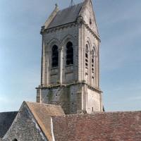 Vue partielle du clocher depuis le nord-ouest (2001)