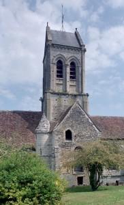 Vue partielle de l'église depuis le sud (2002)