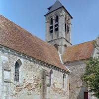 Vue partielle de l'église depuis le sud-ouest (2001)