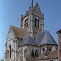 L'église vue du sud-est (2001)