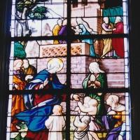 Vitrail de Jésus bénissant les enfants (2004)