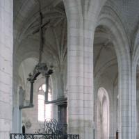 Vue partielle des parties orientales de l'église vers le sud-ouest (2008)