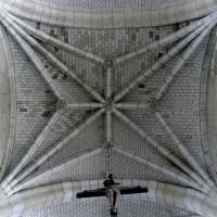 Voûte de la quatrième travée de la nef (2008)