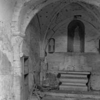 Vue partielle du choeur gothique vers le nord-est (1974)