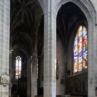 Le bas-côté et la chapelle sud du choeur (2016)