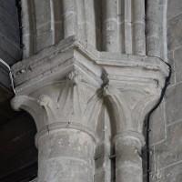 Chapiteaux au revers de la façade ouest (2016)