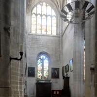 Le bras sud du transept vu vers le sud (2016)