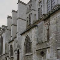 Vue partielle de la nef depuis le nord-ouest (2008)