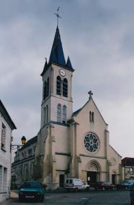 L'église vue du nord-ouest (2002)