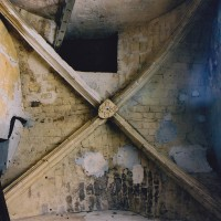 La voûte à la base du clocher (2002)
