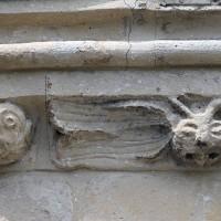La corniche du mur sud du choeur (2019)