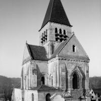L'église vue du sud-est