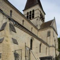 Vue partielle de l'église depuis le sud-ouest (2019)