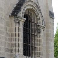 La niche d'autel au mur est du choeur (2019)
