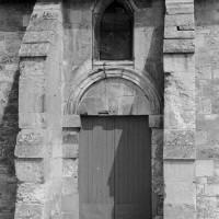 Vue partielle de la façade ouest (1974)