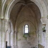 La chapelle sud du choeur vue vers l'est (2018)