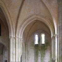 Vue partielle du transept vers le sud-est (2018)