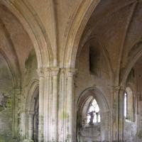 Vue partielle du transept et du choeur vers le nord-est (2018)