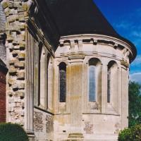 Le bras sud du transept vu du sud-ouest (2003)