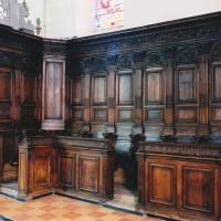 Les stalles provenant de l'abbaye de Marcheroux (2003)