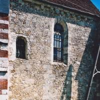 Le mur sud du choeur vu du sud-ouest (2003)