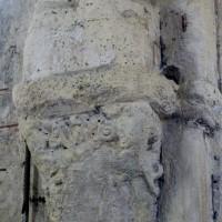 Chapiteau du pilier engagé au revers de la façade (2008)