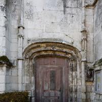 Le portail au nord de la nef (2018)