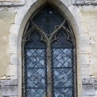 Fenêtre du mur sud du bras sud du transept (2015)