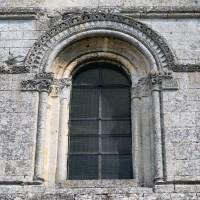 Fenêtre de la partie supérieure de la façade (2015)