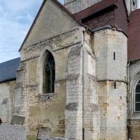 Le bras sud du transept vu du sud-est (2008)
