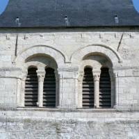 La face sud de l'étage du beffroi du clocher (2008)